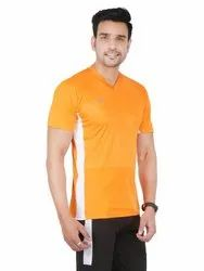 Mens Polyester Casual T-Shirt, Size: S-XL