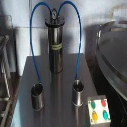 Semi Air Jet Bottle Cleaning Machine