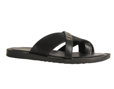 8adabfa61516 Synthetic Bata Black Chappals For Men F871618400