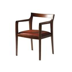 Wooden Side Arm Chair