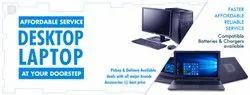 Affordable Desktop / Laptop Services At Your Door Step