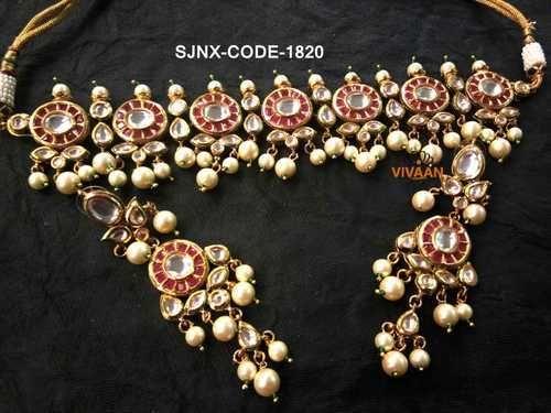 Latest Necklace Set Traditional Designer Necklace Set Exporter