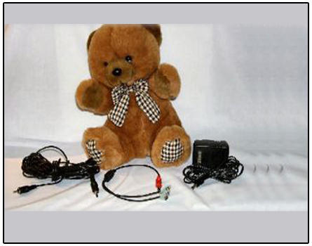 Teddy Bear Quality 155mm high 160mm wide 6mm thick