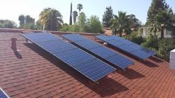Slope Roof Solar Panels