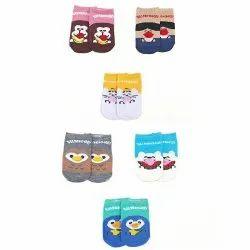 Pack of 6 Pairs Antislip Socks for Kids