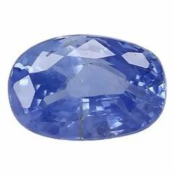 Cornflower Blue VS Clarity Oval - Cut Ceylon Blue Sapphire