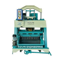 1060 Triple Vibrator Hollow Block Making Machine