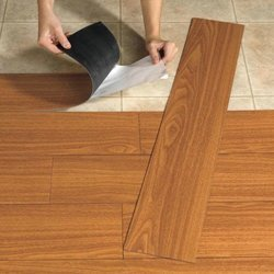 200 PVC Flooring Services, in Pan India, Thickness: .6 Mm