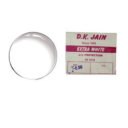 Transparent White Toric Clear Glass Lens
