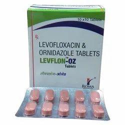Levofloxacin and Ornidazole Tablets