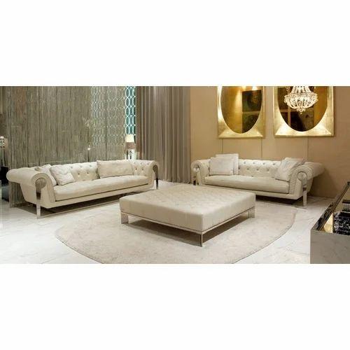 Plain U Shape Luxury Sofa Set Rs