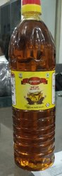 Yellow Krishanam Pure Kachi Ghani Mustard Oil, Packaging Type: Plastic Bottle, Packaging Size: 1 litre