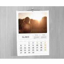 Paper Spiral Wall Calendar