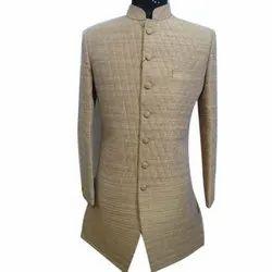 Mens Cotton Indo Western Sherwani