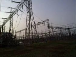 230 KV Outdoor Switch Yard Substation Structure Drawing