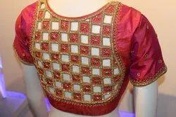 Designer  Bridal  Cut Work Blouse