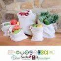 Gots Certified Organic Cotton Muslin Bags