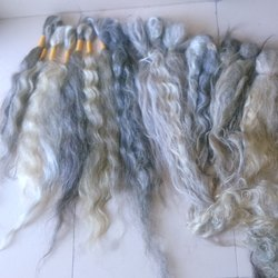 Raw Grey Human Hair
