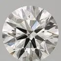 3ct Diamond G SI1 Round Brilliant Cut IGI Certified TYPE2A Stone