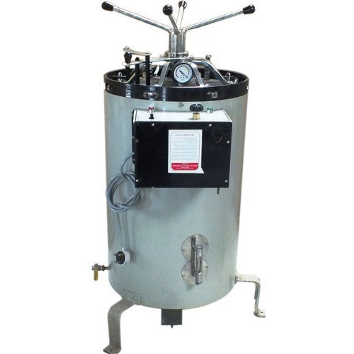 Single Phase Vertical Autoclave