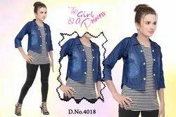 Ladies N Girls Jacket, Size: Free