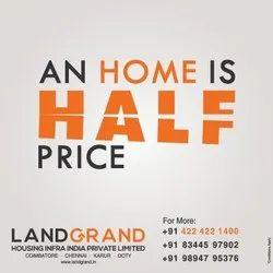 Sell Residential Real Estate Developer, Coimbatore, 1500