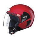 Maroon, Black Achiever Without Cap Open Face Virgo Helmets