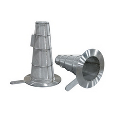 Round Bottom Conical Strainer