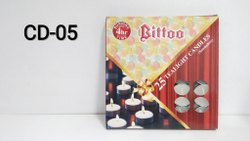 CD-05 Bittoo T-Light 25 Pc.