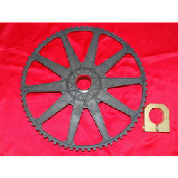 Sprocket Wheel 71 Teeth & Clamp
