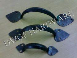 Iron Arrow head Door Handles