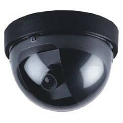 Plastic Indoor Security Dome Camera, CMOS