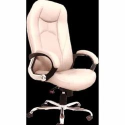Leather High Back Revolving Office Chair