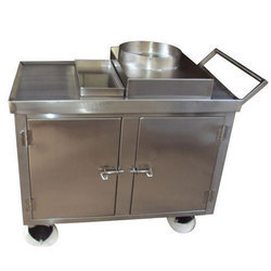SS Hot Food Trolley