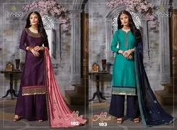 Nyssa Cotton Embroidered Suits