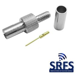 TS9 Male Connector For Lmr 100, Rg 58 And 195 Series Cable