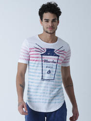 Men Cotton Casual Round Neck T Shirt, Size: Small, Medium, Large, XL