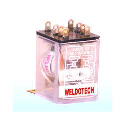 20 Amp DC Relays, 12 - 24 VDC, Rs 95 /piece, Weldotech ...  Amp Relay Wiring Prolink on