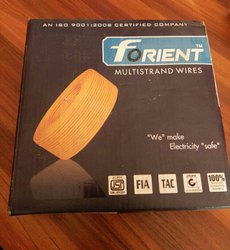 PVC Round Forient Wire 1.5 Sq Mm