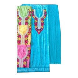 Chanderi Printed Unstitched Suit