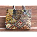 Women's Vintage Banjara Embroidery Shoulder Bag