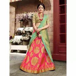 Printed Wedding Wear Designer Lehenga