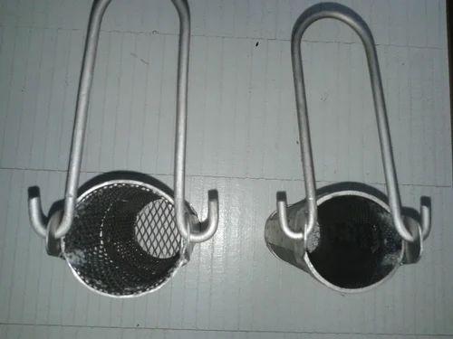 Titanium Basket Tubular Shape Titanium Mesh Basket Tubular