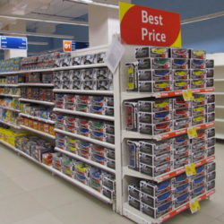 End Cap Gondola Display Units