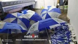 Customized Promotional Two Fold logo printing Umbrellas