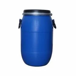 Blue Cylindrical HDPE 35 Liters Open Top Drum, For Chemical Storage, Capacity: 30 L