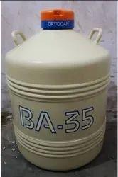 BA35 Cryocan  Liquid Nitrogen Container