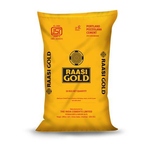 Raasi Gold Cement, Packaging Type: PP Sack Bag, Cement Grade: Grade 43