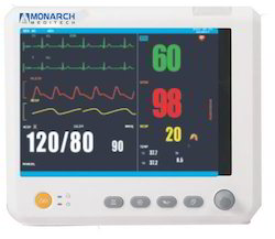 5 Para Patient Monitor, Usage: Hospitals, Clinical Use