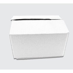 3 Ply White Packaging Corrugated Box 7x5.25x4.25 inches